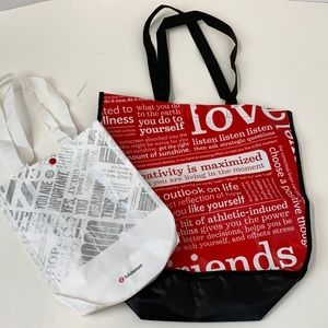 💐BOGO Lululemon reusable shopping totes